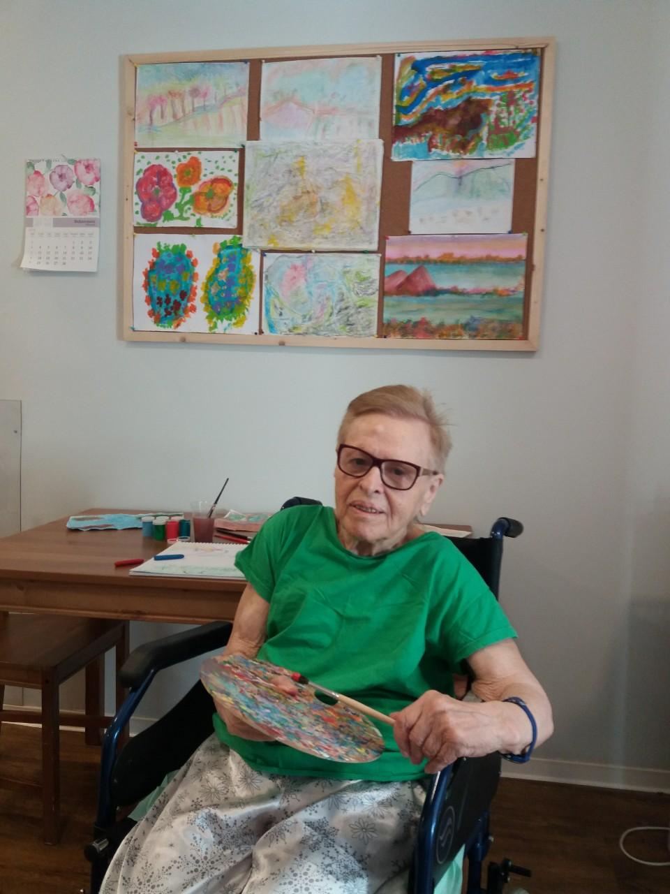 Καλλιτεχνικές δραστηριότητες - ζωγραφική | Καλλιστώ Care